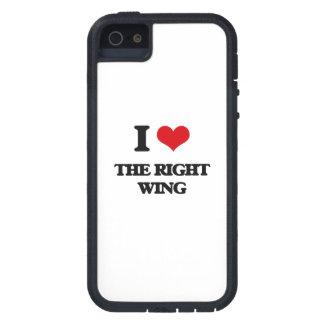 I Liebe der rechte Flügel iPhone 5 Cover