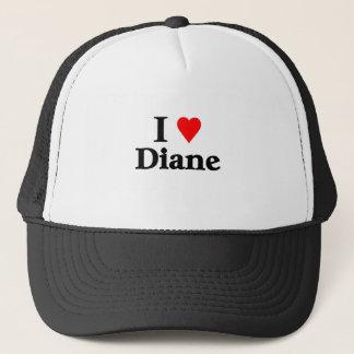 I Liebe Diane Truckerkappe