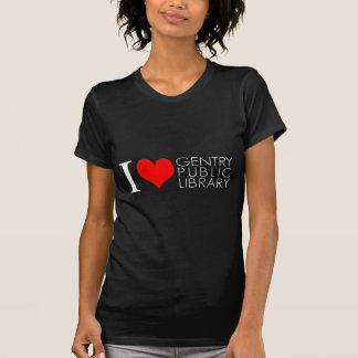 I Liebe die Adel-allgemeine Bibliothek T-Shirts