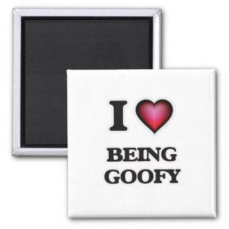 I Liebe, die Goofy ist Quadratischer Magnet