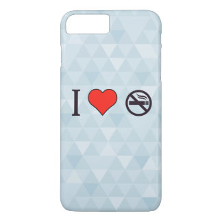 I Liebe, die Regeln bricht iPhone 8 Plus/7 Plus Hülle
