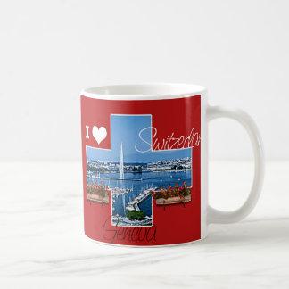 I Liebe die Schweiz Kaffeetasse