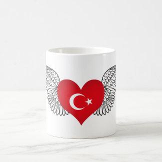 I Liebe die Türkei - Flügel Kaffeetasse