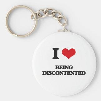 I Liebe, die unzufrieden ist Schlüsselband