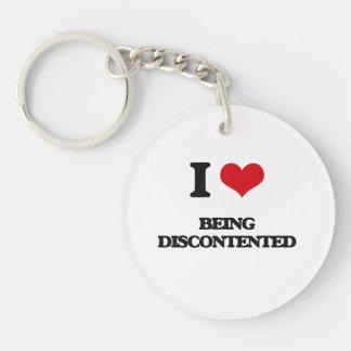 I Liebe, die unzufrieden ist Schlüsselanhängern