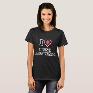 I Liebe, die zwei Parteien zugehörig ist T-Shirt