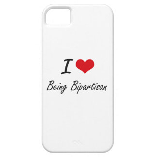 I Liebe, die zwei Parteien zugehöriger Barely There iPhone 5 Hülle