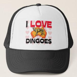 I Liebe Dingoes Truckerkappe
