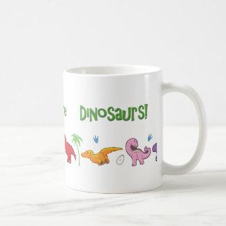 I Liebe-Dinosaurier! (Niedlich) Kaffeetasse