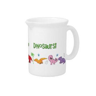 I Liebe-Dinosaurier! (Niedlich) Krug