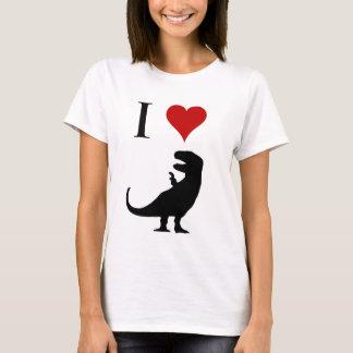 I Liebe-Dinosaurier - T-Rex T-Shirt