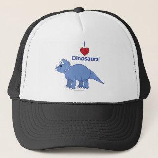 I Liebe-Dinosaurier: Triceratops Truckerkappe