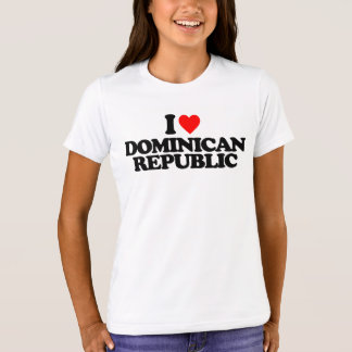 I LIEBE-DOMINIKANISCHE REPUBLIK T-Shirt