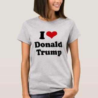 I Liebe Donald Trump für Präsidenten - .png T-Shirt