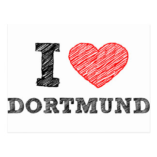 I Liebe Dortmund Postkarten
