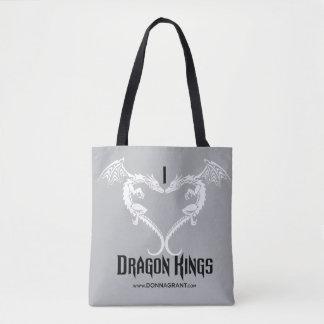 I Liebe-Drache-König-Tasche Tasche