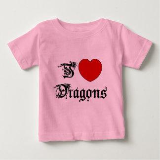 I Liebe-Drache-T - Shirt