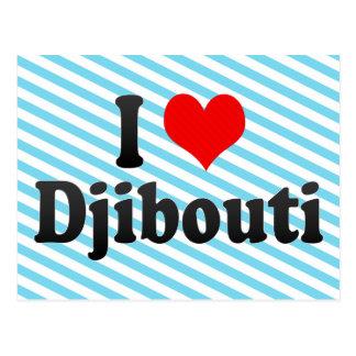 I Liebe Dschibouti, Dschibouti Postkarte