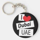 I Liebe Dubai UAE Schlüsselbänder