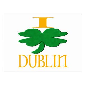 I Liebe Dublin Postkarte