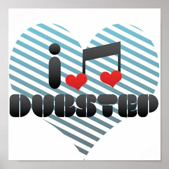 I Liebe Dubstep Poster