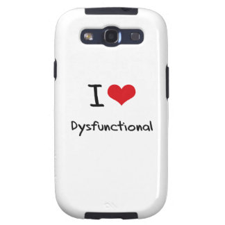 I Liebe dysfunktionell Samsung Galaxy SIII Hüllen