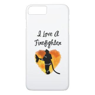 I Liebe ein Feuerwehrmann iPhone 7 Plus Hülle