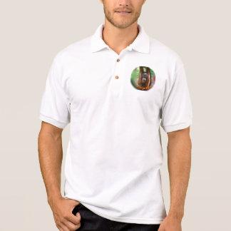 I Liebe ein glücklicher Orang-Utan Polo Shirt
