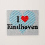 I Liebe Eindhoven, die Niederlande Jigsaw Puzzles