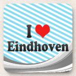 I Liebe Eindhoven, die Niederlande Getränk Untersetzer