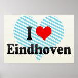 I Liebe Eindhoven, die Niederlande Plakatdrucke