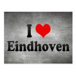 I Liebe Eindhoven, die Niederlande Postkarten