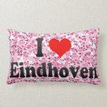 I Liebe Eindhoven, die Niederlande Zierkissen