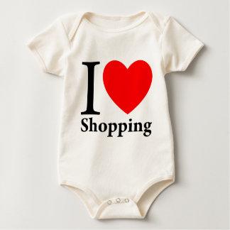 I Liebe-Einkauf Baby Strampler