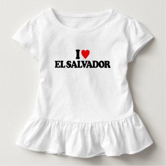 I LIEBE EL SALVADOR KLEINKIND T-SHIRT