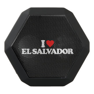 I LIEBE EL SALVADOR SCHWARZE BLUETOOTH LAUTSPRECHER