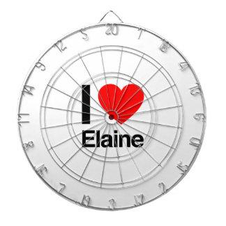I Liebe Elaine Dartscheiben