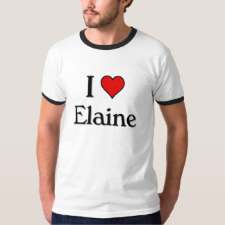 I Liebe Elaine Hemd