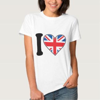 I Liebe England Hemden