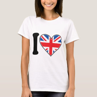 I Liebe England T-Shirt