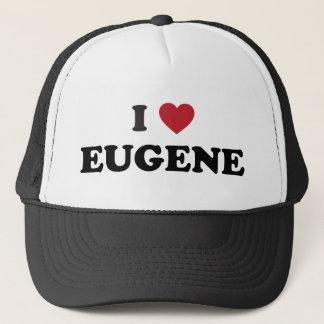 I Liebe Eugene Oregon Truckerkappe