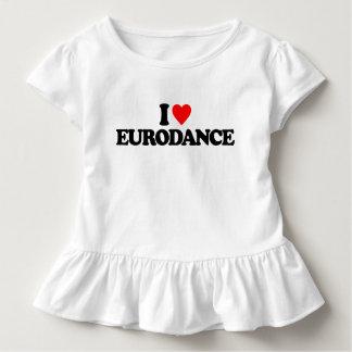 I LIEBE EURODANCE KLEINKIND T-SHIRT