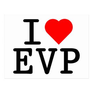 I Liebe EVP Postkarte