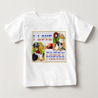 I Liebe-extravagante Tauben! Baby T-shirt