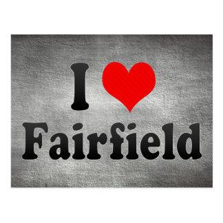 I Liebe Fairfield, Vereinigte Staaten Postkarte