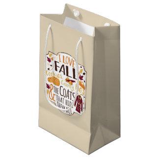I Liebe-Fall-Geschenk-Tasche Kleine Geschenktüte