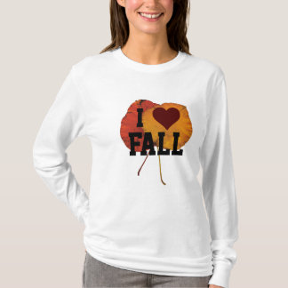 I Liebe-Fall-T - Shirts