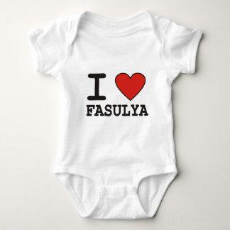 I Liebe Fasulya Baby Strampler