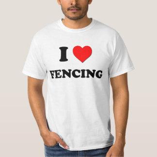 I Liebe-Fechten T-Shirt