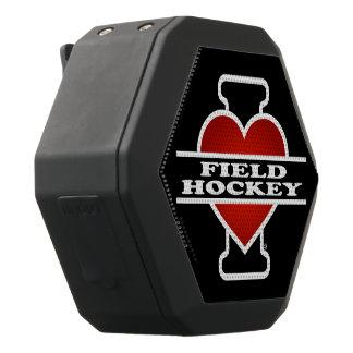 I Liebe-Feld-Hockey Schwarze Bluetooth Lautsprecher